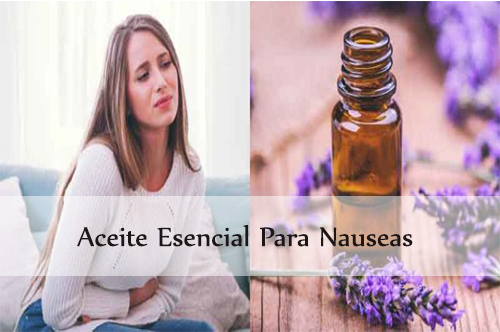 aceite esencial para nauseas